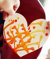 kid with homemade heart 72